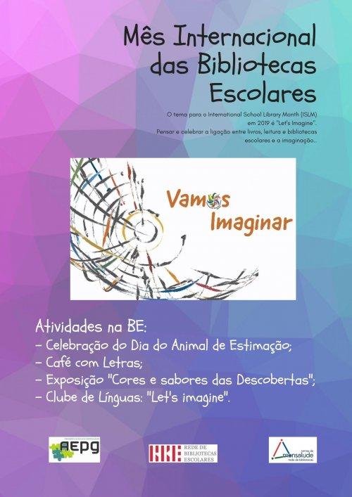 Mês Internacional das Bibliotecas Escolares AGPG